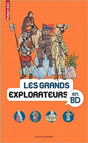BD : Les grands explorateurs en BD - différent.land