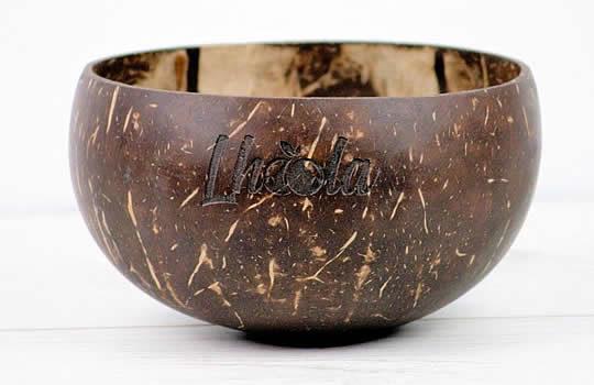 Photo d'un bol en noix de coco Lhoola