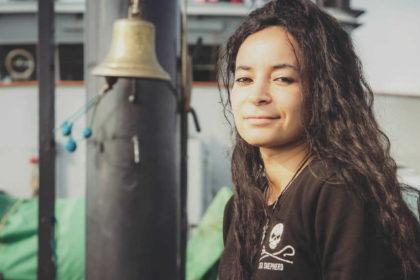 Image pour Rencontre avec Lamya Essemlali, Présidente de Sea Shepherd France