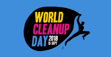 World Clean Up Day : Le 15 septembre, on nettoie la planète !