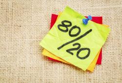 Comprendre et utiliser la loi des 80/20