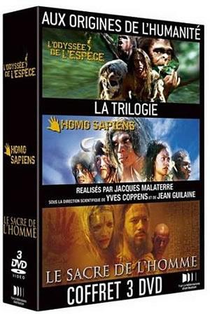Coffret DVD : Aux origines de l'humanité