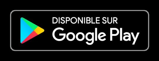 Bouton de téléchargement pour le Google Play