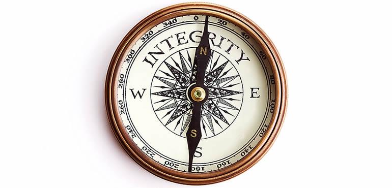 L'intégrité quoiqu'il arrive - différent.land