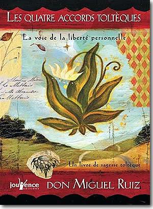 Livre : les 4 accords toltèques - different.land