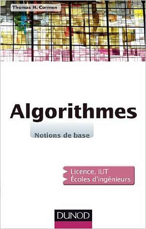 Livre : Algorithmes - notions de base