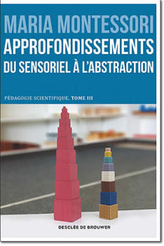 livre : Approfondissements, du sensoriel à l'abstraction