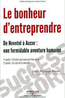 livre : Le bonheur d'entreprendre