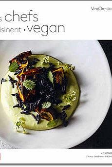 livre : Les chefs cuisinent vegan