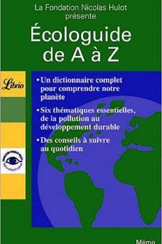 livre : Écologuide de A à Z
