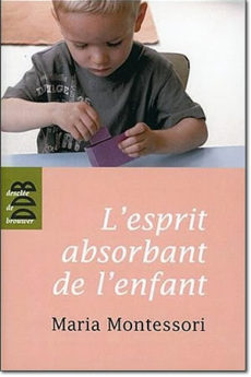 livre : L'esprit absorbant de l'enfant