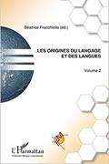 Les origines du langage et des langues de Béatrice Fracchiolla