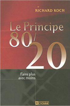 livre : Le Principe 80/20