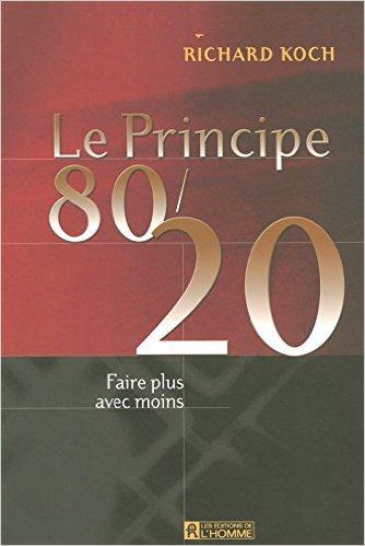 Livre : Le principe du 80/20