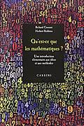 Qu'est-ce que les mathématiques ? de Richard Courant