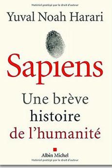 livre : Sapiens, une brève histoire de l'humanité