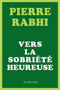 livre : Vers la sobriété heureuse