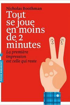 livre : Tout se joue en moins de 2 minutes