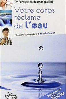 livre : Votre corps réclame de l'eau