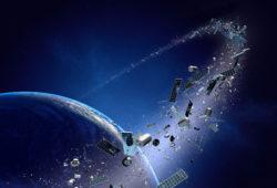 La pollution de l'espace