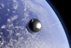 Le premier satellite